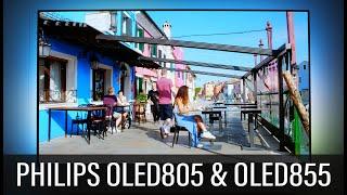 PHILIPS OLED805 / OLED855 4K Fernseher mit P5 AI & Ambilight (2020)