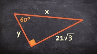 Given The Long Leg Of A Special Right Triangle Determine The Missing Lengths