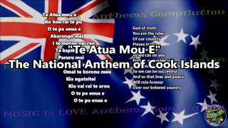 Cook Islands National Anthem with music, vocal and lyrics Maori w/English Translation