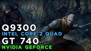 The Witcher 3 Wild Hunt (2015) Gameplay GeForce GT740 - Intel Core 2 Quad Q9300 - 4GB RAM