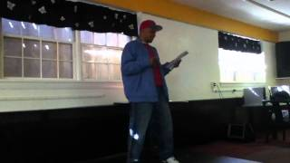 Kevin Martin poetry slam audition - Video Youtube