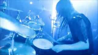 """Nils """"Dominator"""" Fjellström - Dark Funeral - When Angels forever Die (Drumcam)"""