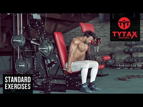 Lever Seated Shrug | TYTAX® M2