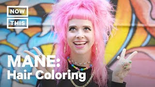 How Bright Hair Colors Could Change Your Life | MANE | NowThis