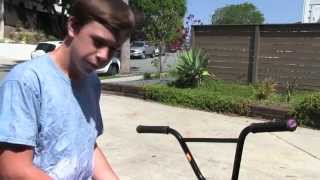 How To 180 Barspin Flat BMX