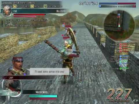dynasty warriors online aeria games