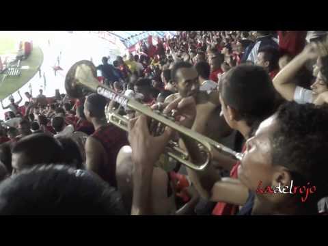 """""""Campeón, te quiero de esta manera + gol + Dale ro - Barón Rojo Sur - América 4 Jaguares 0"""" Barra: Baron Rojo Sur • Club: América de Cáli • País: Colombia"""