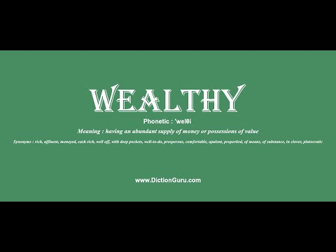 mp4 Wealthy Looking Synonym, download Wealthy Looking Synonym video klip Wealthy Looking Synonym