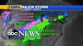 Dangerous storm brings severe weather from tornadoes to snow l ABC News