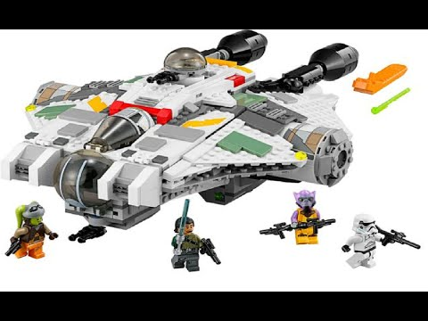 Vidéo LEGO Star Wars 75053 : Le Ghost