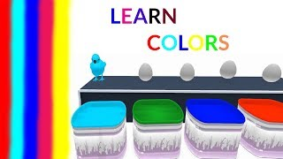 Learn Colors with Surprise Eggs - Surprise Eggs for Kids - Learning Colors for Children with Eggs