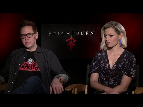 """Forget the superhero elements, producer James Gunn and actress Elizabeth Banks say horror homage """"Brightburn"""" is closer to a twisted family affair. (May 21)"""