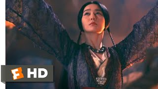 The White Haired Witch (2015) - Lantern Festival Scene (4/10) | Movieclips