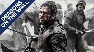 Game of Thrones - Battle of the Bastards - Dragons on the Wall by IGN