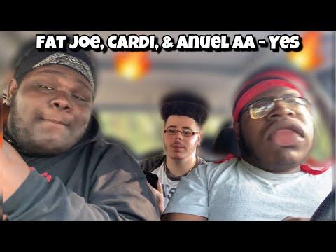 ANUEL AA 🔥🔥 - Fat Joe, Cardi B , & Anuel AA - Yes | REACTION | D R E A M E R S