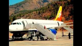 preview picture of video '帕羅機場 雷龍王國 不丹 Paro Airport Bhutan Kingdom of Thunder Dragon'