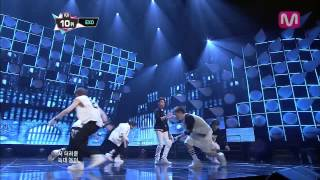 EXO_늑대와 미녀 (Wolf by EXO of Mcountdown 2013.7.11)