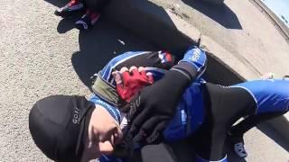 Грузовик сбил Велосипедиста на Приморском шоссе. Парень выжил