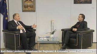 Karl-Heinz Lambertz (Präsident Europäischer Ausschuss der Regionen)