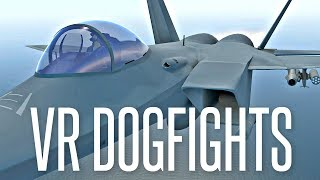 VIRTUAL REALITY DOGFIGHTS - VTOL VR Gameplay