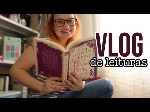 Lendo A adorável loja de chocolates de Paris e livros novos | vlog de leituras
