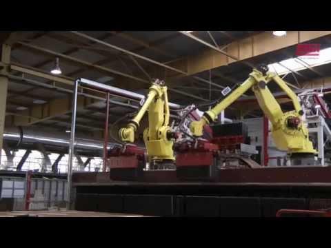 LINGL Anlagenbau, Entladeanlage Dachziegelwerk Röben Polska