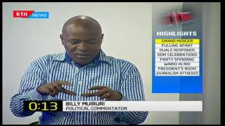News Sources: Jubilee Merger gearing up as affiliate parties close shop , September 8th 2016 Part 1