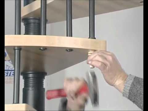 comment monter un escalier helicoidal la r ponse est sur. Black Bedroom Furniture Sets. Home Design Ideas
