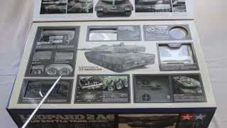 Tamiya 56020 Leopard 2A6 Full Option Unboxing