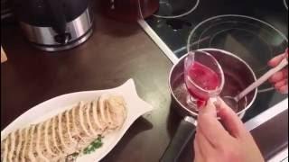 Соус для мяса из красной смородины🍴Очень вкусный и простой рецепт👌