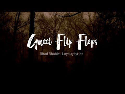 "Gucci Flip Flop - BHAD BHABIE "" REMIX feat. Snoop Dogg & Plies - Lyrics"