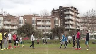 Прикольный клип про футбол.