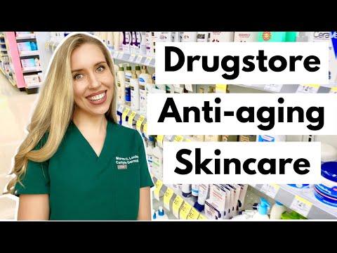 Drugstore Anti-aging Skincare Routine | The Budget Dermatologist