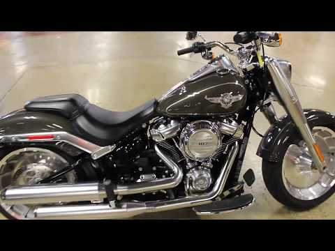 2018 Harley-Davidson Fat Boy® 107 in New London, Connecticut - Video 1