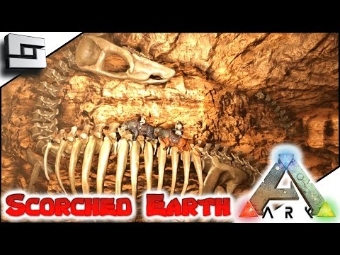 Ark Scorched Earth Desert Cave Artifact Of The Crag E15