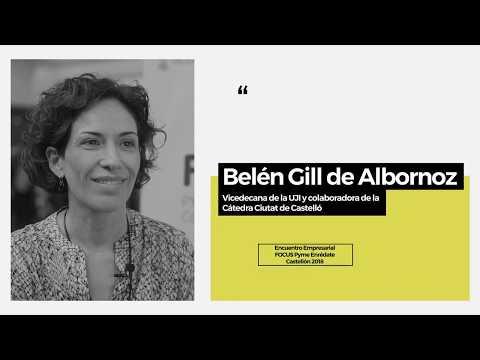 """Belén Gill de Albornoz en el """"Focus Pyme Enrédate: encuentro empresarial y de networking[;;;][;;;]"""