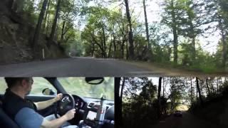 2014 Porsche Cayman on Northern California backroads, part 1