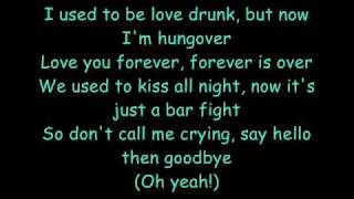 Love Drunk - Boys Like Girls (Lyrics)