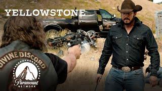 Ranch Hands & Bikers' Brawl | Yellowstone | Paramount Network