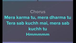 Mera Karma Tu Mera Dharma Tu Karaoke