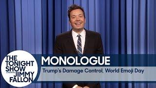 Trump's Damage Control, World Emoji Day