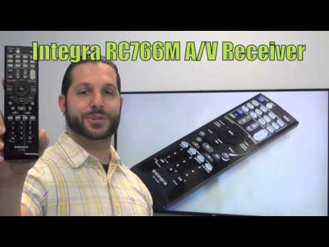 INTEGRA RC766M Audio/Video Receiver Remote Control