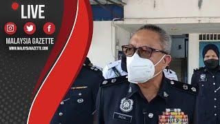 MGTV LIVE : Sidang Media Timbalan KP Kuantan Mengenai Tular Penunggang Basikal Berpaut Pada Lori