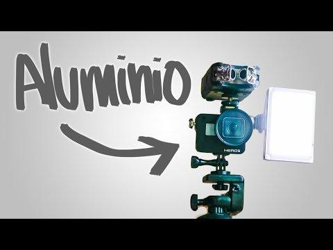 Frame de aluminio + adaptador filtros y accesorios