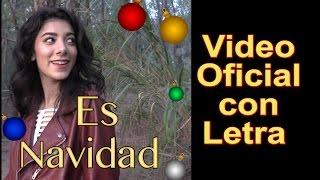 Giselle - ES NAVIDAD con Letra Video Oficial