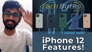 iPhone 12 - Features! | ENGLISH | TECHBYTES