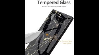 Better Than A Skin? The Suyue Y Marble Texture Tempered Glass Case For The Note 10+