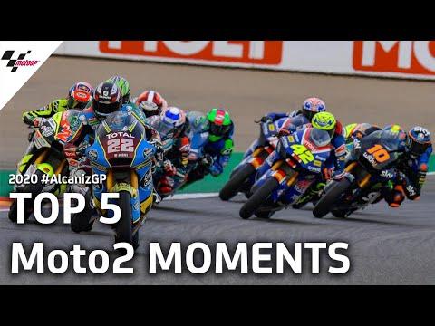 Moto2 テルエルGPの決勝レースで気になるシーンを集めたハイライト動画