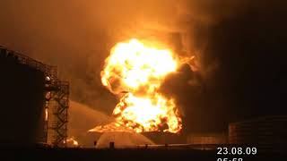 На нефтеперекачивающей станции в Татарстане произошел пожар