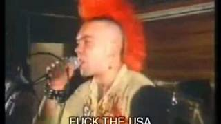 "The Exploited - Fuck the usa ""subtitulado en español"" fuck"
